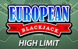 Европейский Блэкджек С Высоким Лимитом