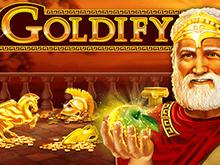 Игровой автомат Goldify – крупные ставки и выплаты