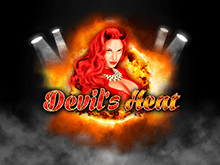Горячий игровой автомат Devil's Heat на тему роковых красоток
